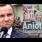 Andrzej Duda komentuje zarobki asystentki Glapińskiego w NBP 08.01.2018
