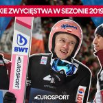 Stoch, Kubacki, Żyła, drużyna - polskie zwycięstwa z sezonie 2019/2020 [skoki narciarskie]