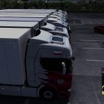 Euro Truck Simulator 2 trasa Wrocław - Gdańsk - Kraków (1.595km) Święto Niepodległości