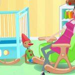 Bajki dla dzieci - Rock - A - Bye Baby śpiewanka dla dzieciaczków po angielsku