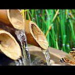 🟥 BAMBOO WATER FOUNTAIN / White Noise for Sleep, Studying, Meditation, Yoga, Relax & Zen