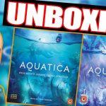 Aquatica gra planszowa ¦ Aquatica: Mroźne Wody ¦ edycja polska ¦ UNBOXING [2021]