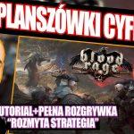 Blood Rage: Digital Edition ¦ pełna rozgrywka ¦ zasady gry ¦ PLANSZÓWKI CYFROWO#2 [2021]