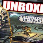 Eldritch Horror: Pod Piramidami ¦ dodatek do gry ¦ UNBOXING [2021]