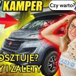 Ile kosztuje NOWY KAMPER? Czy warto kupić? WADY i ZALETY kampera Fiat Roller Team T-Line 740