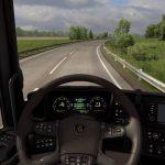 MERCEDES BENZ 540KM | Euro Truck Simulator 2 | Olsztyn-Białystok|Logitech g29 gameplay |