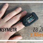 Pulsoksymetr FINGERTIP z Aliexpress za 20 zł