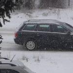 Sparaliżowana ulica - spadł śnieg...