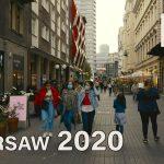 【4K】Walk in Warsaw - Nowy Swiat and Chmielna Street | Warszawa Spacer | ASMR Street Sound - Penguin Walk