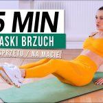 Trening BRZUCHA 15 min / Monika Kołakowska - Monika Kołakowska