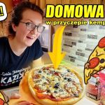 """DOMOWA PIZZA """"KEBABOWA"""" - lepsza niż w Pizza Hut! Przepis na PYSZNĄ PIZZĘ w przyczepie kempingowej"""