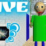 ZAPIS Z LIVE! / Szkolne życie! / Powrót do przeszłości / Baldi's Basics in Education and Learning - Przegląd Youtube