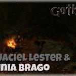 Przyjaciel Lester i Jaskinia Brago w gothic 2
