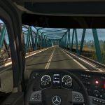 2021 | Mercedes Actros | Euro Truck Simulator | Logitech g29 Gameplay |Timelapse |